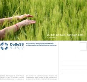 DeBeSS Postkarte